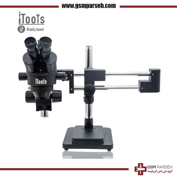 لوپ بازودار ۳ چشم (میکروسکوپ) iTools مدل 10HW